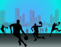 Street basket Royalty Free Stock Images