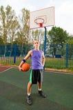 Street basketball Stock Image