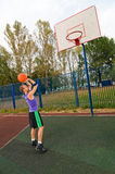 Street basketball Stock Images