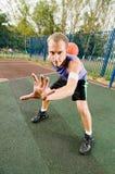 Street basketball Stock Photography
