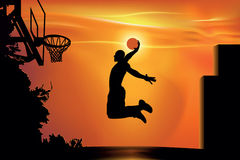 Street basketball Royalty Free Stock Photo