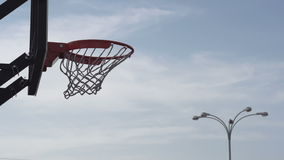 Street Basketball stock footage