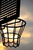 Street basketball board Royalty Free Stock Photography