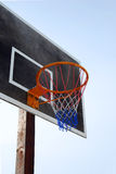 Street basketball board Stock Photo