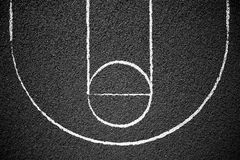 Street Basketball Court Royalty Free Stock Photo