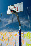 Street basketball court Royalty Free Stock Images