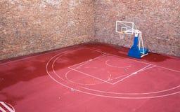 Street Basketball court Stock Photography