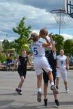 Street basketball Royalty Free Stock Photos