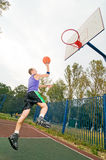 Street basketball player Royalty Free Stock Photography