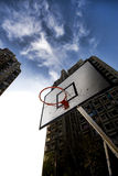 Street basketball table Stock Images