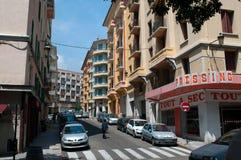 Street of Bastia. Stock Image
