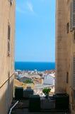 Street of Bastia Stock Image