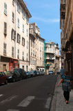 Street of Bastia Stock Images