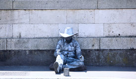 Street Beggars in Rome Royalty Free Stock Photo