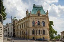 Street  in Belgrade Royalty Free Stock Photos