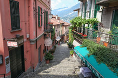 Street in Bellagio Royalty Free Stock Image