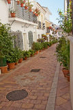 Street of Benalmadena Stock Photography