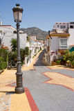 Street of Benalmadena Royalty Free Stock Photos