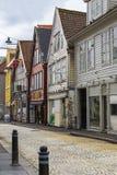 Street of Bergen Stock Images