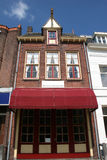 Street in Bergen op Zoom. Old house in Bergen op Zoom Stock Image