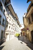 Street at Bern downtown Stock Photography