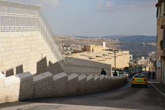 Street in Bethlehem, Palestine. Stock Photo