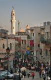 Street in Bethlehem. Palestinian territories. Israel Royalty Free Stock Photo
