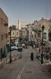 Street in Bethlehem. Palestinian territories. Israel Stock Photo