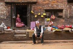 Street in Bhaktapur, Nepal