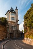 Street in Biarritz, France Stock Photo
