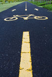 Street for Bikes Stock Photography