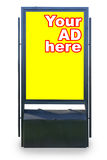Street billboard Stock Photo