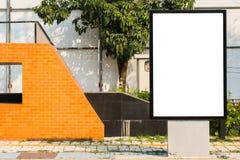 Street Billboard Stock Images