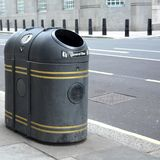 Street bin Royalty Free Stock Images