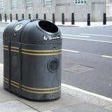 Street bin. A street bin in london Royalty Free Stock Images