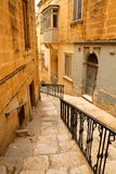 Street in Birgu Stock Photography