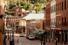 Street in Blackhawk, Colorado Royalty Free Stock Images