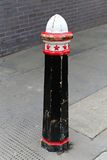 Street bollard Royalty Free Stock Photography