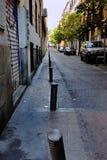 Street Bollards Stock Photo