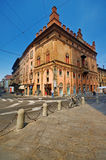Street in Bologna, Italy. This picture shows a street in Bologna, Italy Stock Photo