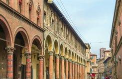 Street in Bologna, Italy Royalty Free Stock Photos