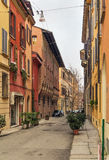 Street in Bologna, Italy Royalty Free Stock Photography