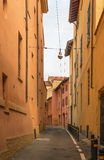 Street in Bologna, Italy Stock Images