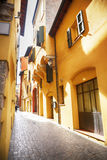 Street in Bologna, Italy. Small street in Bologna, Italy Stock Photo