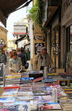Street book shop, Nice, France Royalty Free Stock Photos