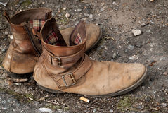 Street boots Royalty Free Stock Images