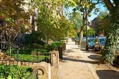 Street at Boston Royalty Free Stock Image