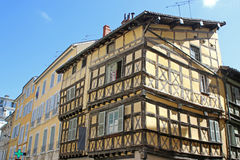 Street in Bourg-en-Bresse, France Royalty Free Stock Photo