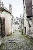 Street of Bourges, Bourges, France. The street of Bourges, Bourges, France, detail and general view of the city royalty free stock image