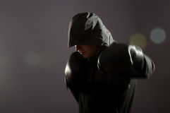Street boxer Stock Photography